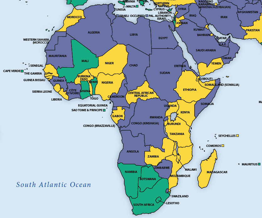 Afrika Karte Staaten.20 Jahre Namibia Peter Schlemihls Politblog