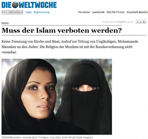Muss der Islam verboten werden?