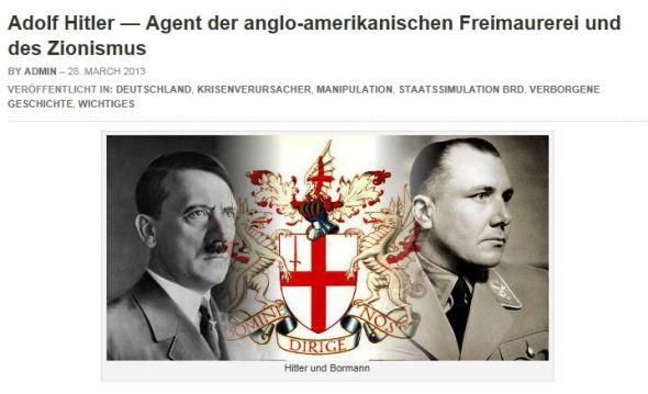 Hitler und die Freimaurer