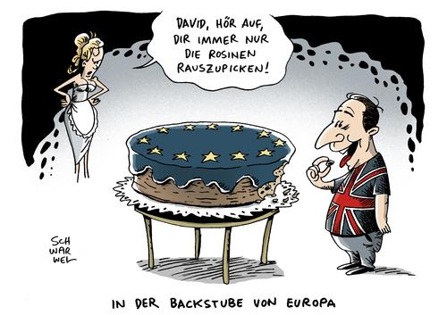Grossbritannien als Rosinenpicker.